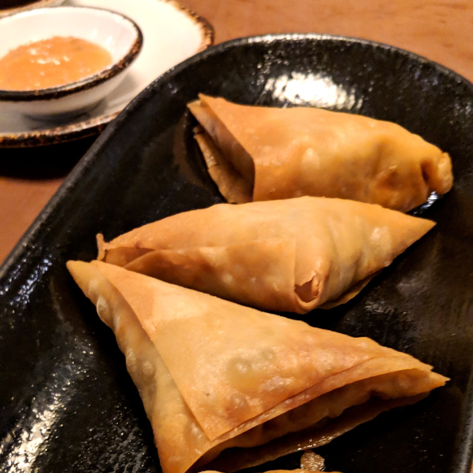 Chicken Keema Samosa