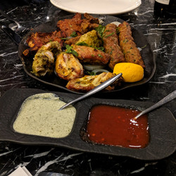 Mixed Grill & Dips