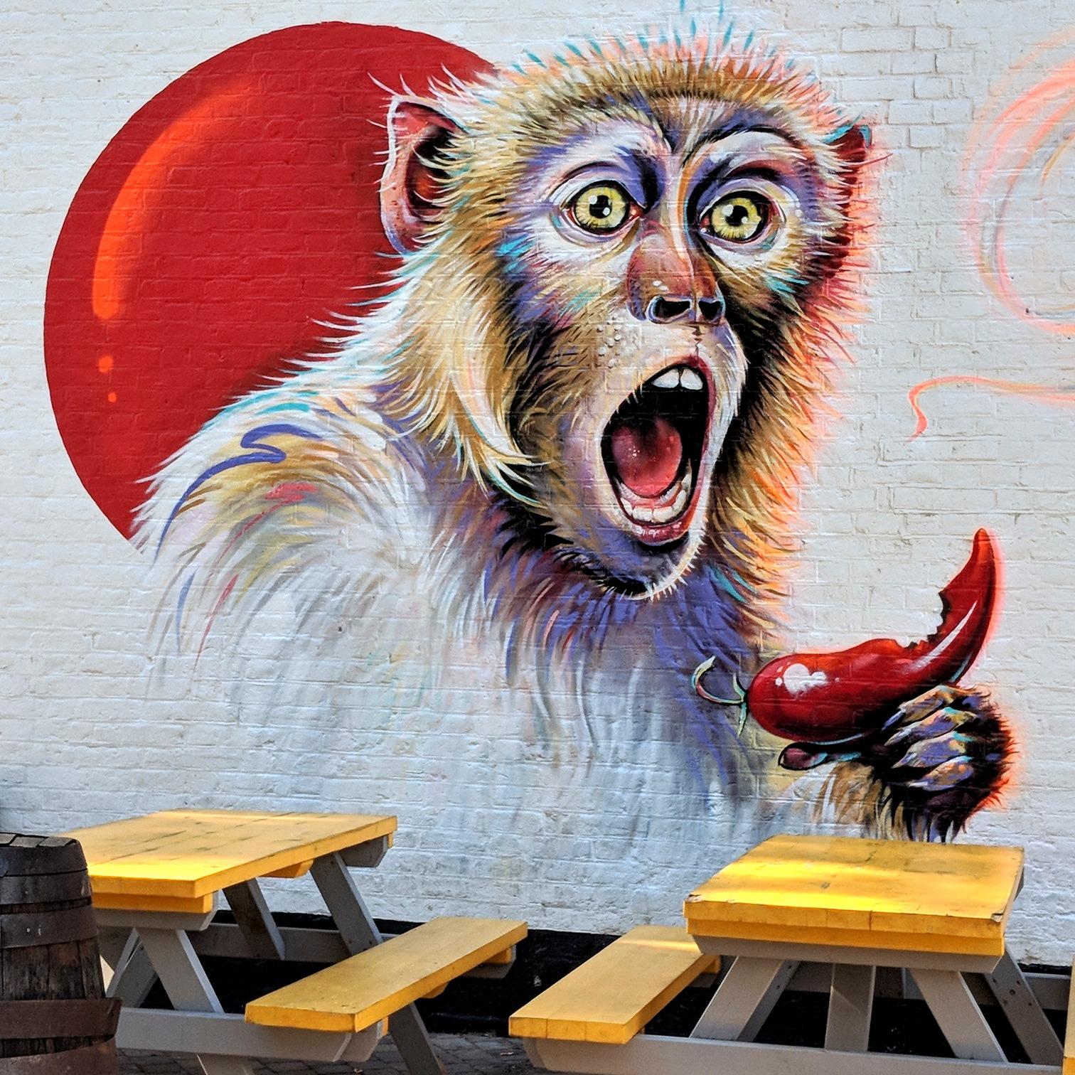 Mural outside