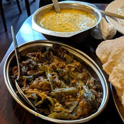 Bhindi & Dhal