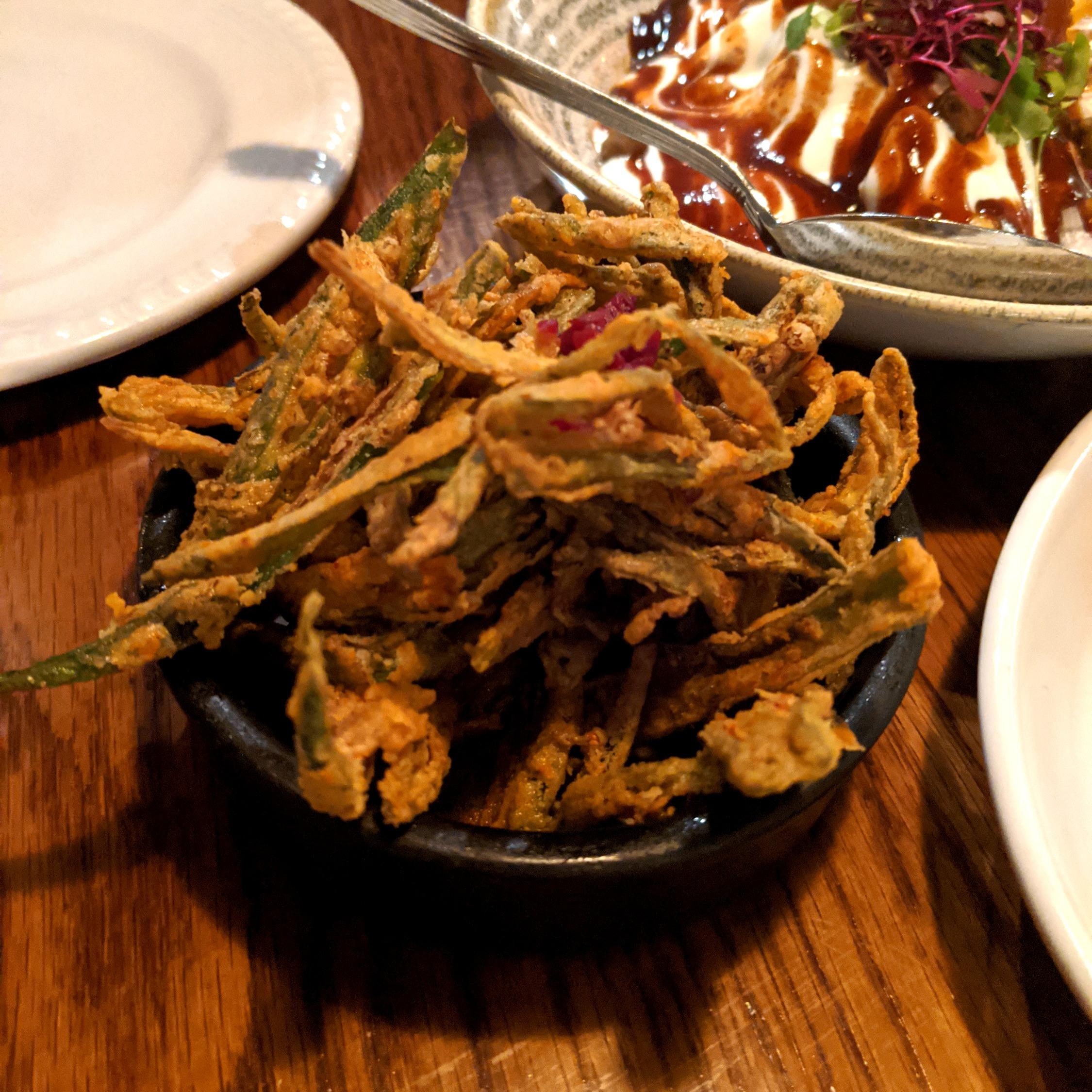 Porzhi Okra Fries