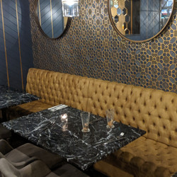 Downstairs Bench Seating