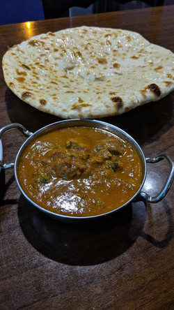 Lamb Karahi & Peshwari Naan