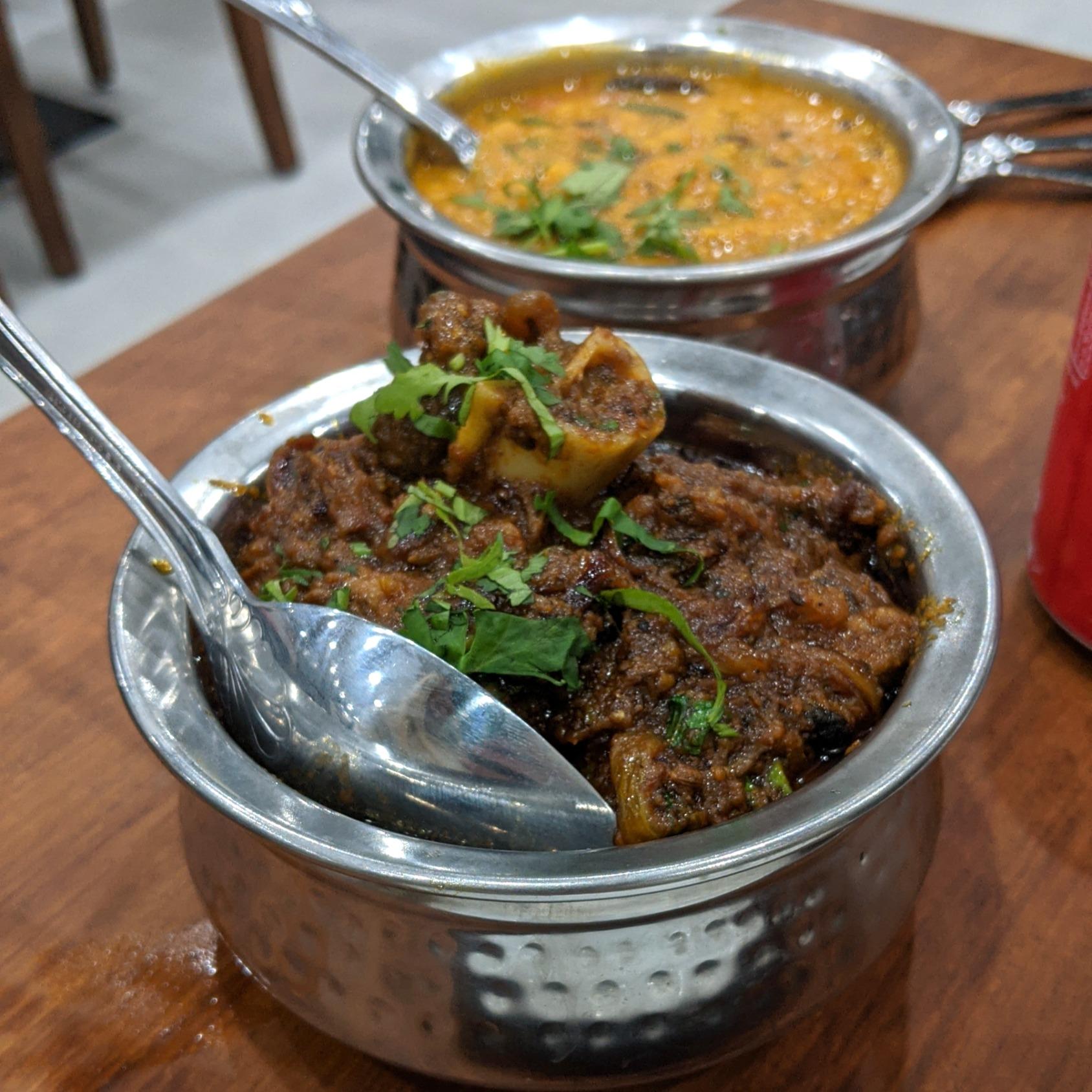 Bhuna Gosht & Tadka Daal