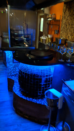 The tandoor and grill