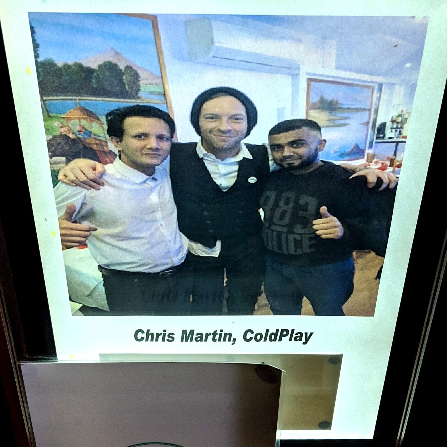 Coldplay's Chris Martin