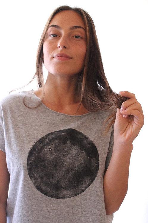 Black moon heather Grey shirt