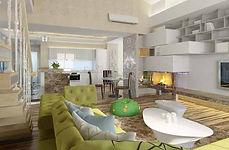 дизайн интерьера квартир в праге чехии