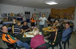 Garagenfeier bei Andi