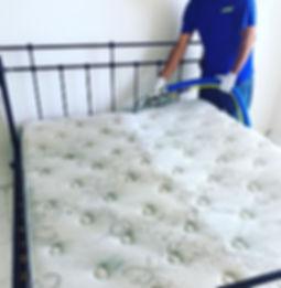 Limpieza de mattress a vapor. Eliminacion acaros y bacterias.