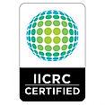 Estamos certificados por IICRC Water Damage Restoration