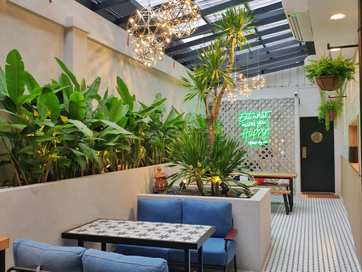 The new secret garden at the heart of Jalan Kayu