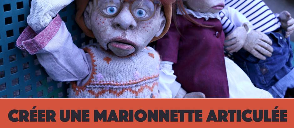 """Stage """"créer une marionnette articulée""""- du 15 au 20 février 2021"""