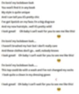 lovin' my lockdown look lyrics 2.JPG