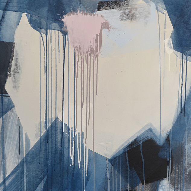 Untitled 6, 2016 Acylic on canvas, 29 x 29 ins