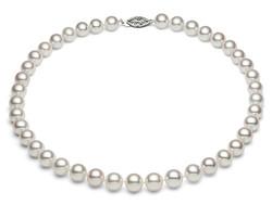 Classy Japanese AKoya Pearl necklace
