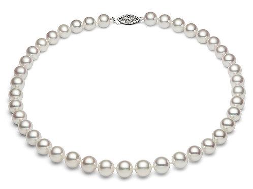 AAAA, Superior Japanese Akoya Pearl necklace