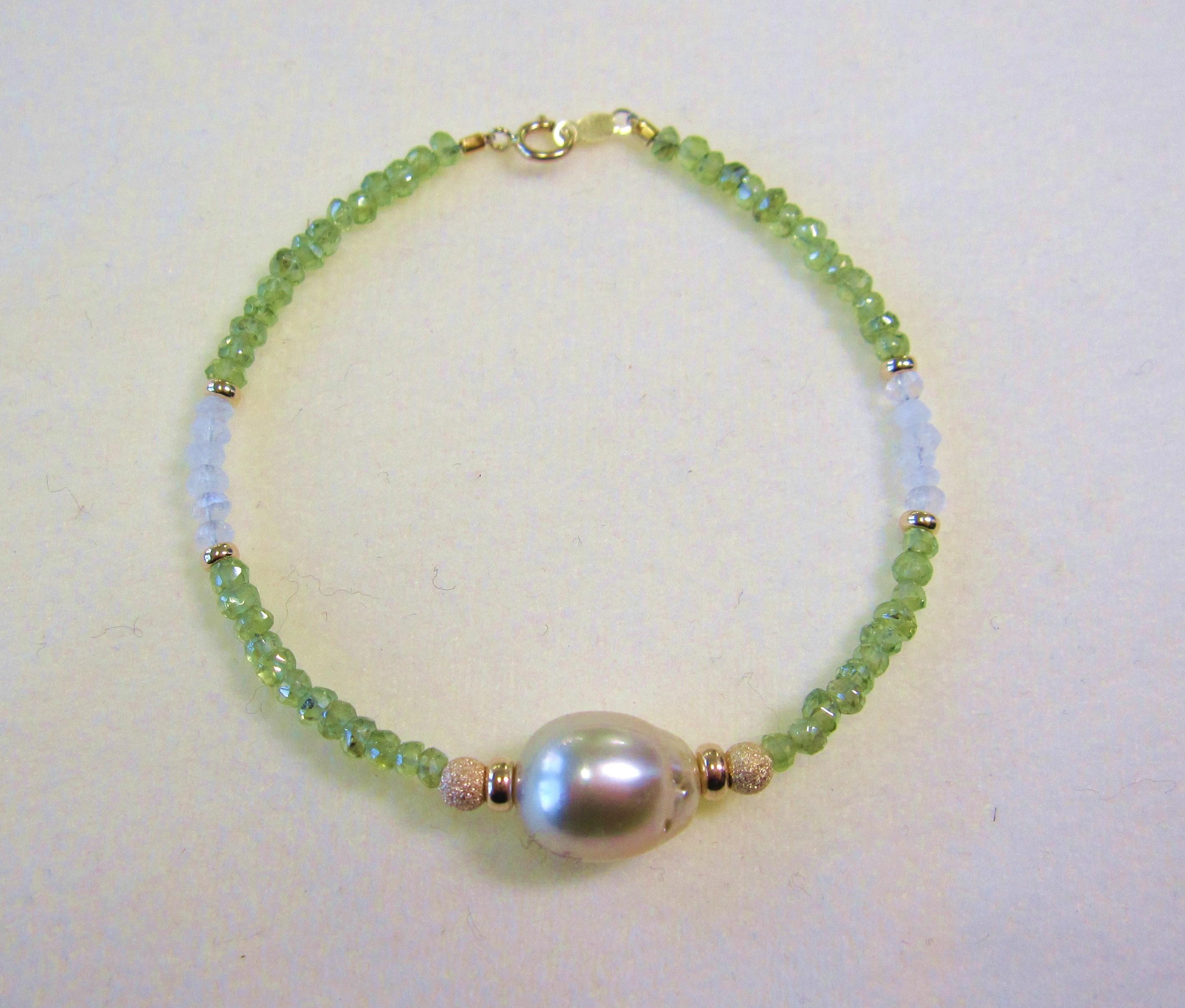 Creamy Golden South Sea pearl