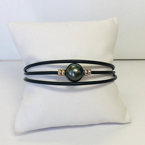 Dark Tahitian Pearl bracelet