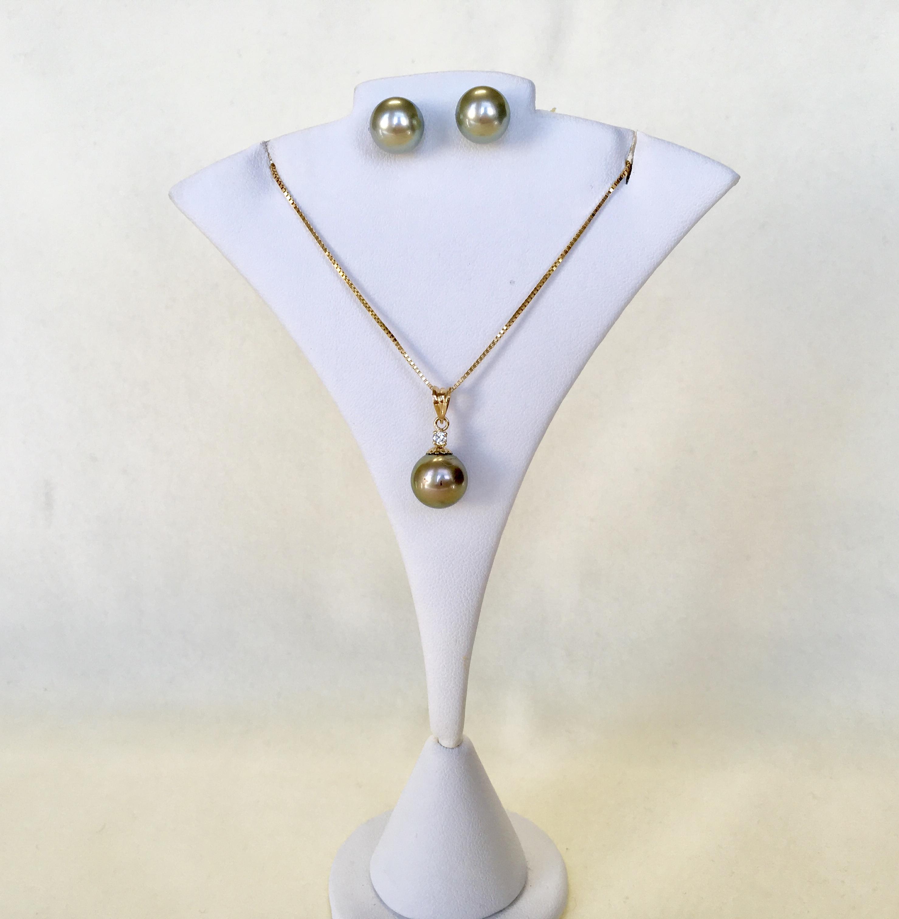 Tahitian Pearl set