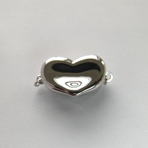 Rhodium Silver clasp