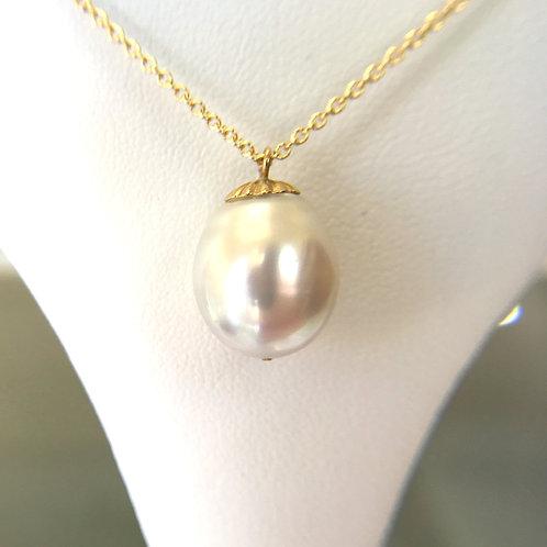 White South Sea Pearl pendant top