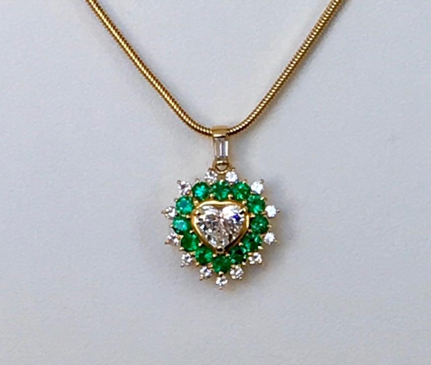 Heart Diamond pendant top