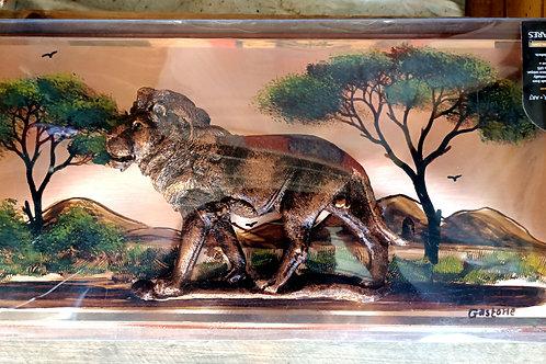 Lion 🦁 Motif 17D Gastone Copperware