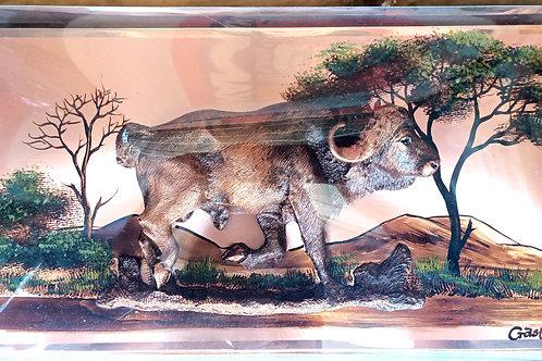 Buffalo  Motif Gastone Copperware