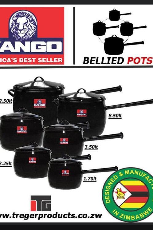 Kango Bellied pots 6piece set