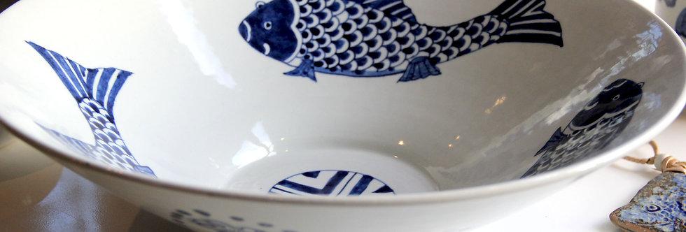 Taça Porcelana Peixes