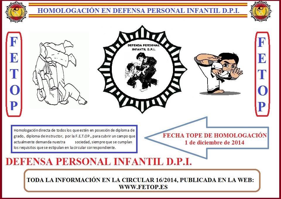 DEFENSA PERSONAL INFANTIL D.P.I.