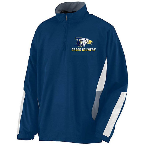NAVY, GRAPHITE, AND WHITE Augusta Drive Pullover