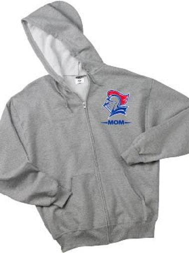 UNISEX-Jerzees Adult 8 oz. NuBlend® Fleece Full-Zip Hood