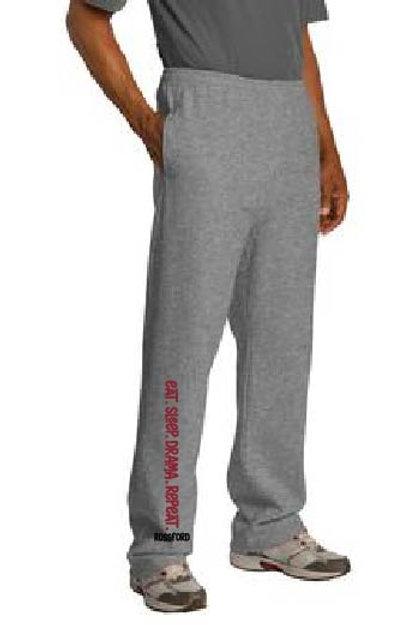 Jerzees Adult 8 oz. OPEN BOTTOM  NuBlend® Fleece Sweatpants