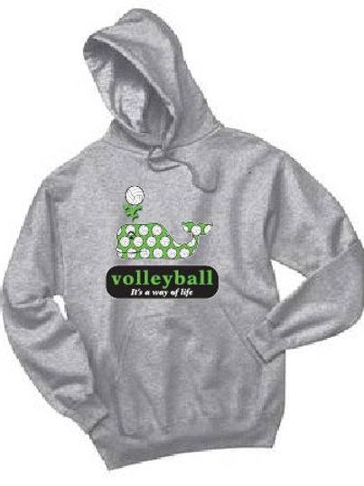 Bella + Canvas Unisex Sponge Fleece Pullover Hooded Sweatshirt