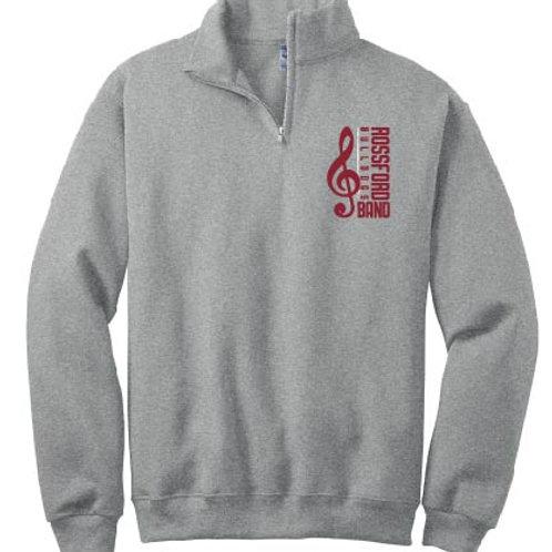 Jerzees Adult 8 oz. NuBlend® Quarter-Zip Cadet Collar Sweatshirt