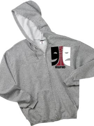 Jerzees Adult NuBlend® Fleece Full-Zip Hooded Sweatshirt