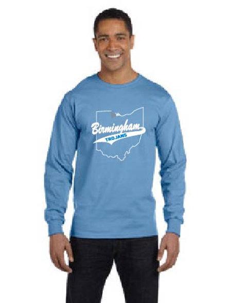 Jerzees Adult 5.6 oz.  Long-Sleeve T-Shirt