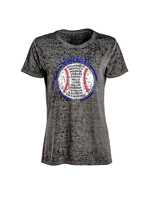 J America Ladies' Zen Jersey T-Shirt