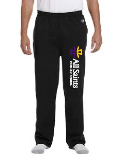 CHAMPION ADULT OPEN BOTTOM SWEATPANTS