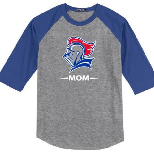 UNISEX - Bella + Canvas Unisex 3/4-Sleeve Baseball T-Shirt