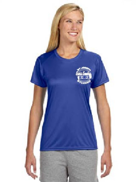 LADIES COACH'S SHIRT WITH COACH ON THE BACK