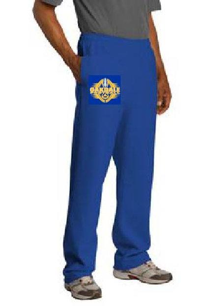 Jerzees Adult 8 oz. NuBlend® Closed-Bottom Fleece Sweatpants