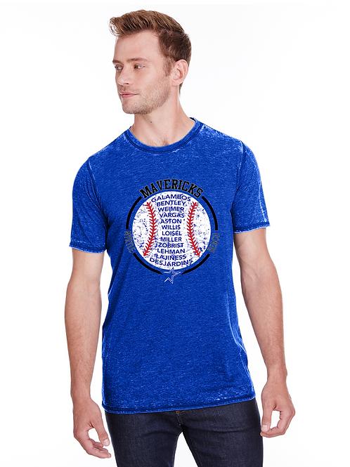 J America Adult Vintage Zen Jersey T-Shirt