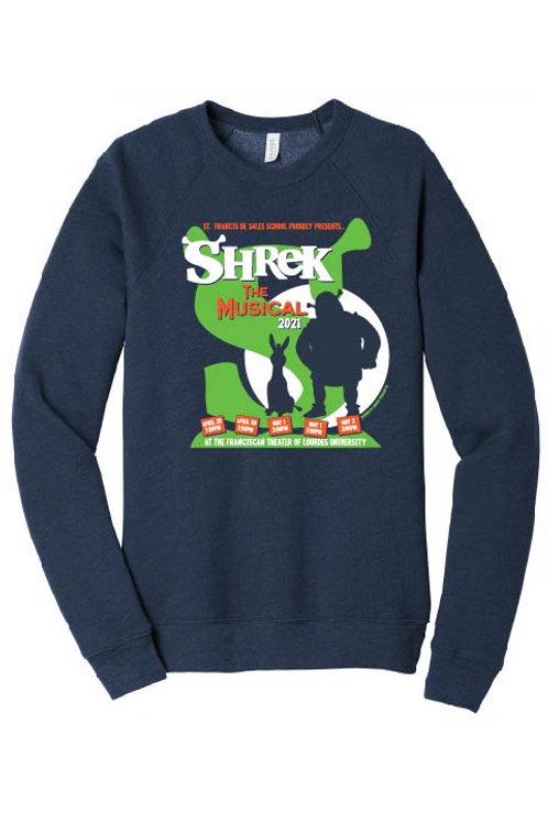Bella + Canvas Unisex Sponge Fleece Crewneck Sweatshirt