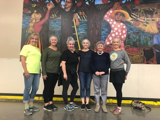 Richardson Wright volunteers at the Oregon Food Bank