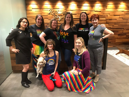 Happy Pride Month from Richardson Wright & Friends!
