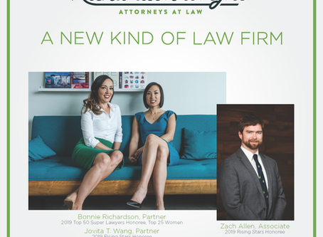 Richardson Wright attorneys recognized in 2019 Oregon Super Lawyers® and Rising Stars List