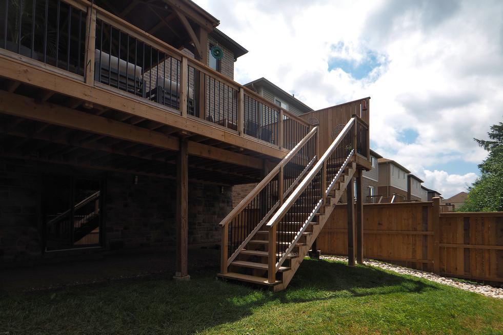 Backyard - 190 Eaglecrest Street - For Sale